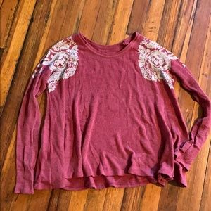Free People We the Free waffle top